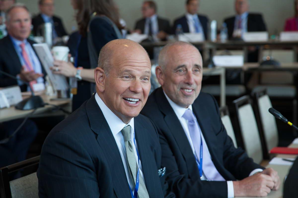 Robert S. Taubman (Taubman Centers, Inc.) and Thomas M. Flexner (Citigroup)