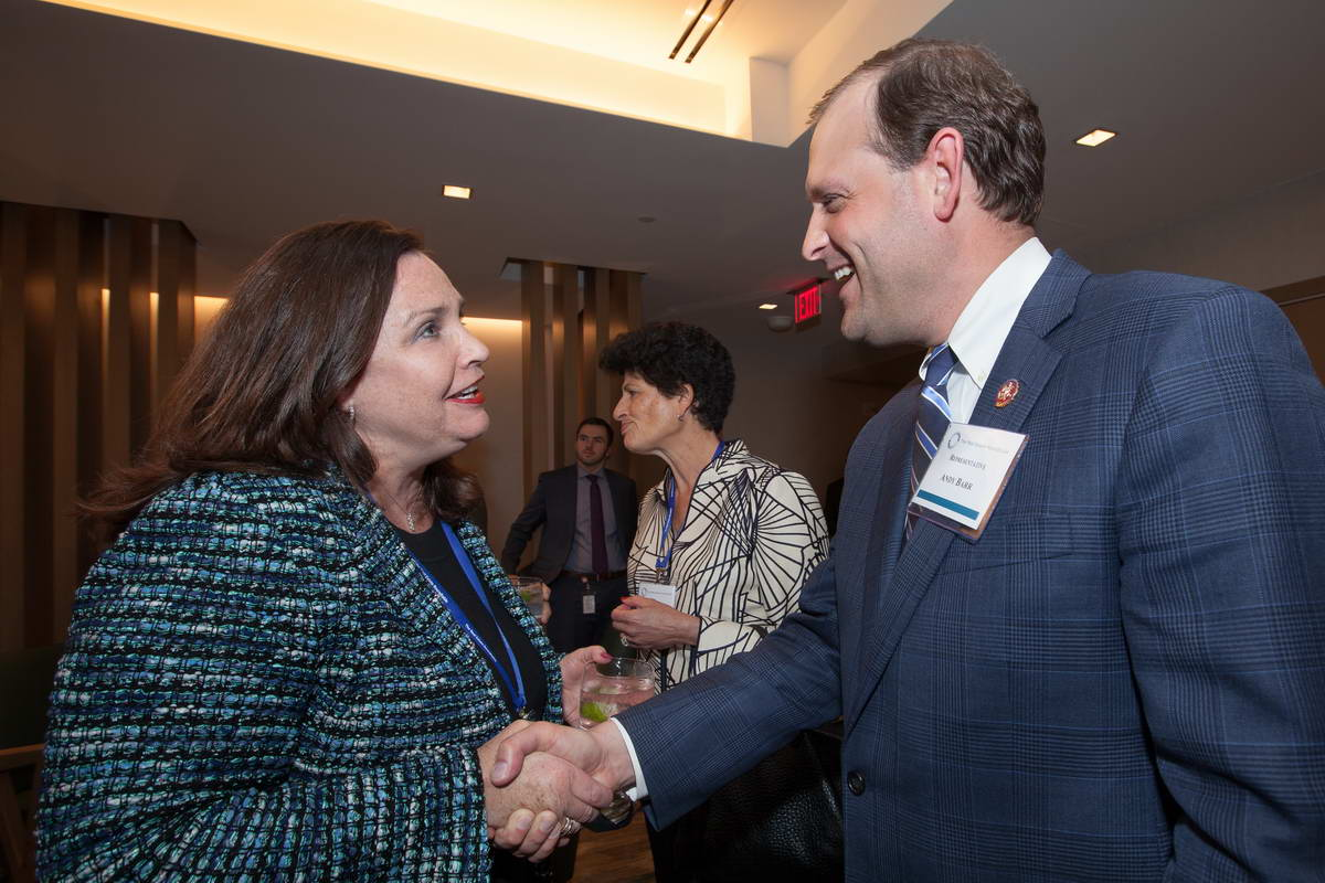 Wendy Mann (CREW Network) and Rep. Andy Barr (R-KY)