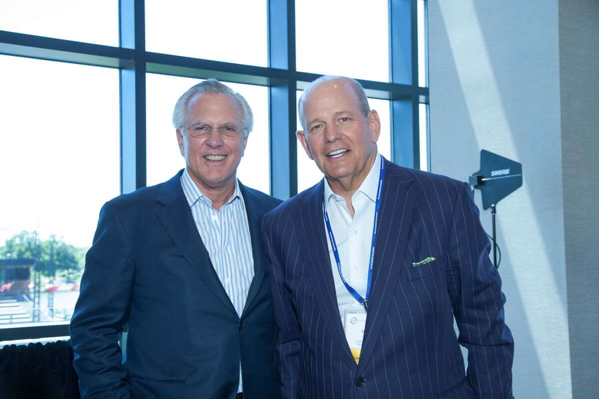 Richard Fisher and Bobby Taubman (Taubman Centers, Inc)