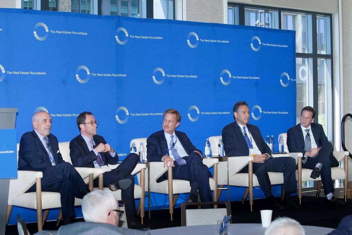 Thomas M. Flexner (Citigroup), Jeff Blau (Related Companies), Barry Sholem (MSD Partners, LP), Timothy Naughton (AvalonBay Communities, Inc.), Adam Gallistel (GIC Real Estate)