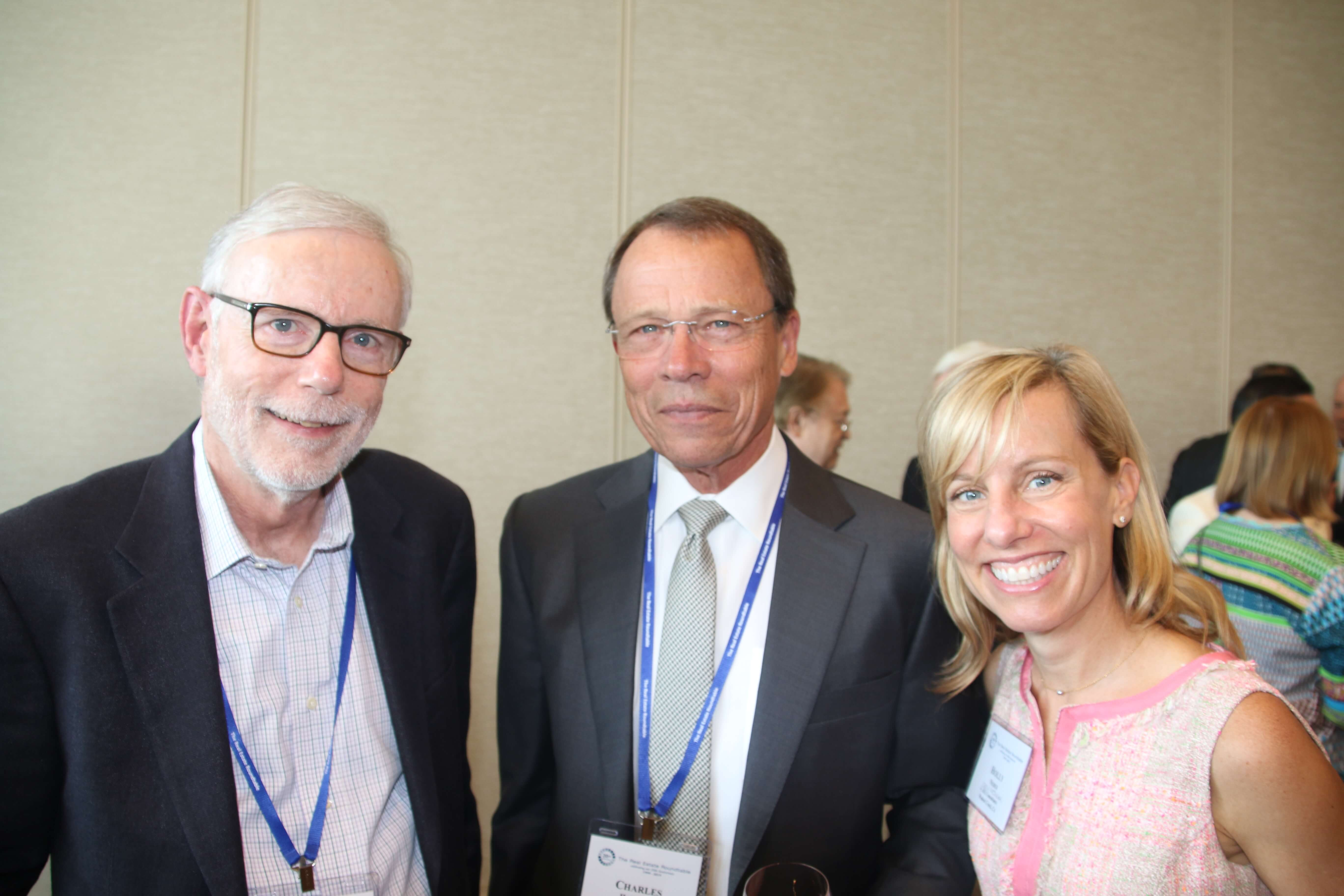 Bruce MacEwen (Portman Financial, LLC), Charles Harrison (REIT Funding, LLC), Holly Neber (AEI Consultants)