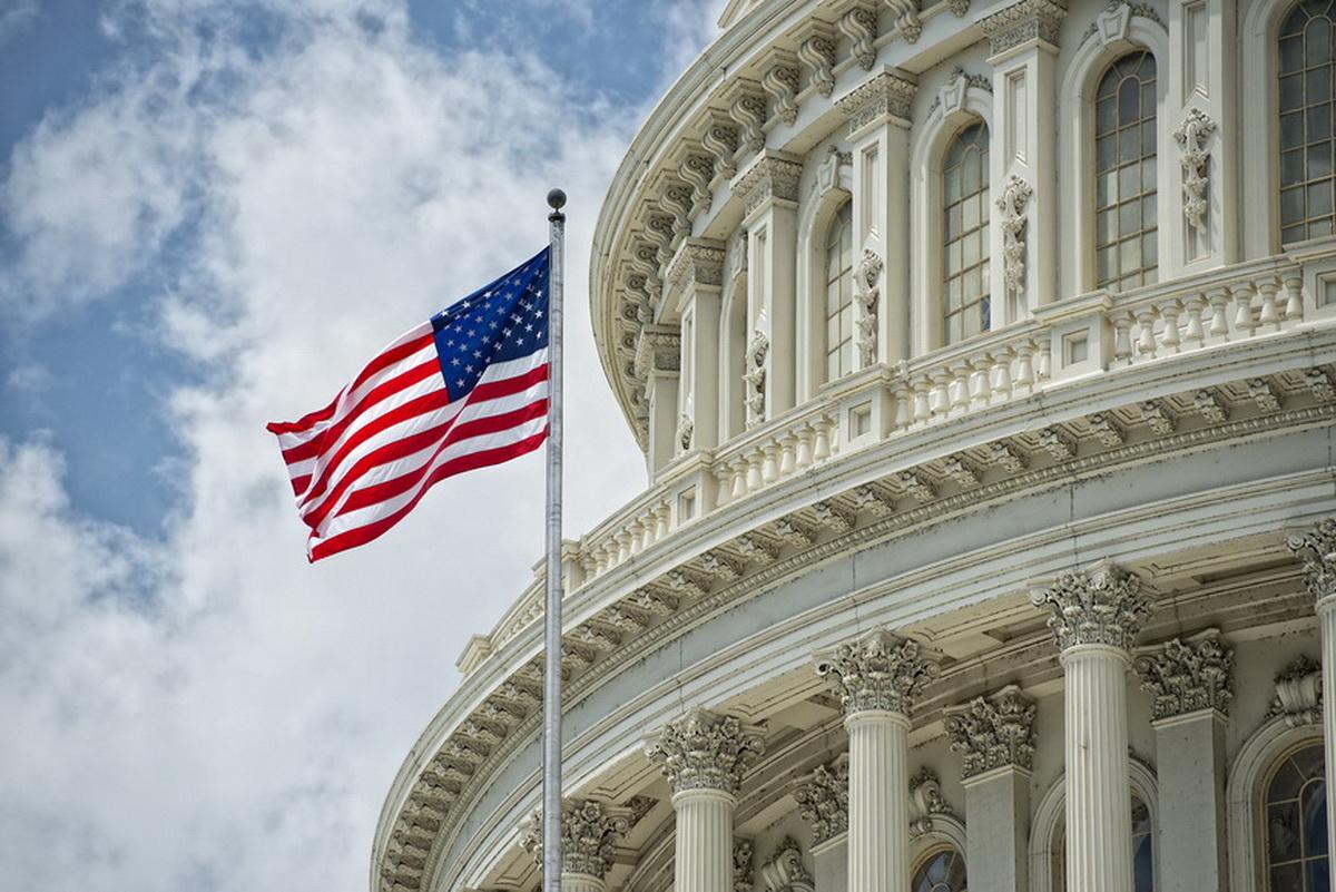 Capitol Dome Am Flag - Copy