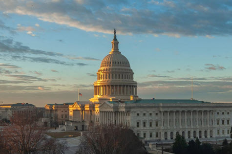 Capitol Dome Dusk