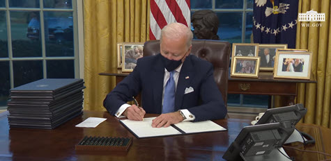 President Biden signs Executive Orders on