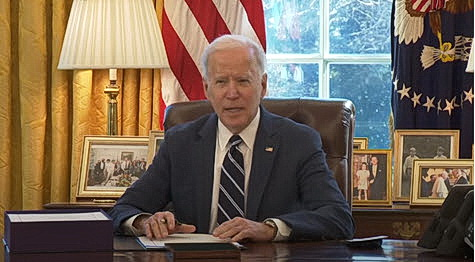 President Biden Signs Pandemic Relief Bill March 11, 2021