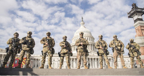 Capitol armed guards