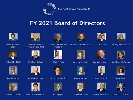 Real Estate Roundtable FY 2021 Board of Directors - image